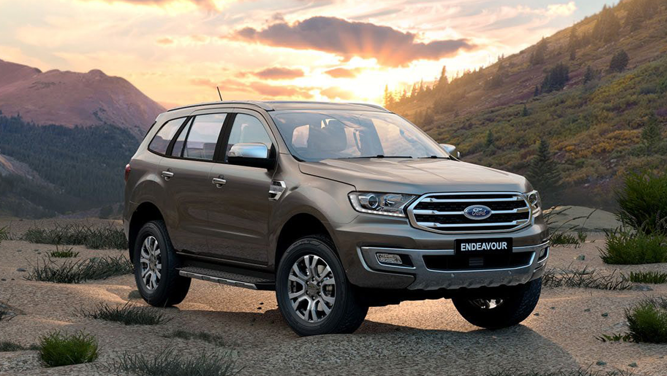 Ford Endeavour Price in Noida